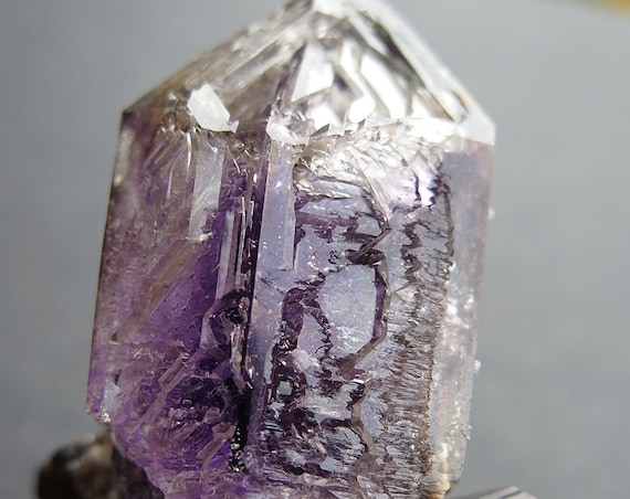 120.2 gram Hopper head Amethyst Quartz (repaired), Goboboseb Mts, Erongo Region, Namibia