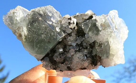 Sharp Edge Well Formed Fluorite, Quartz Boltsburn Mine, UK New Find