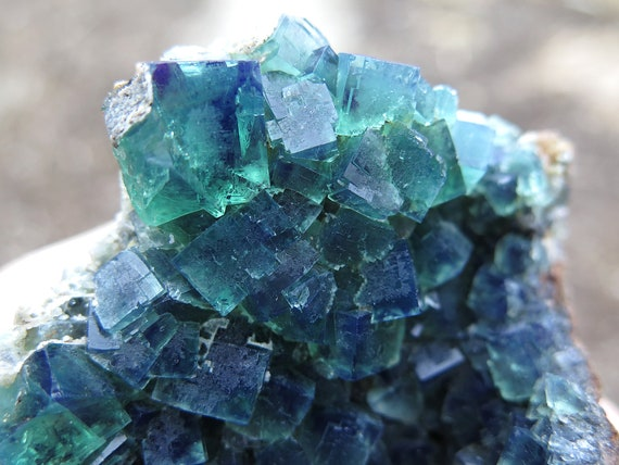 10.7 cm Fluorite from Diana Maria Mine, Frosterley, Weardale Co. Durham, England