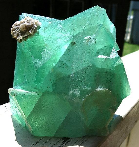 6 Pound 14 ounce Fluorite, Riemvasmaak, South Africa