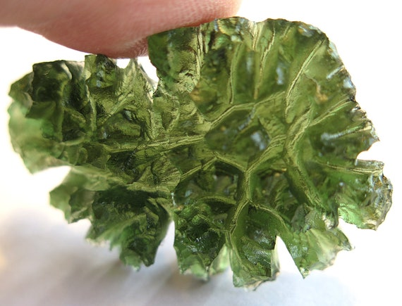 Top Quality Besednice, spiky, hedgehog Moldavite. From the Besednice fields in Czech Republic direct from the miners 20 year collection