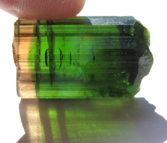 Gem Tourmaline, Barra De Salina, Brazil. 11 Grams. Terminated