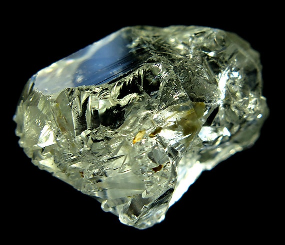 13 Gram Colorless Gem Topaz Crystal Complete Floater. Brazil