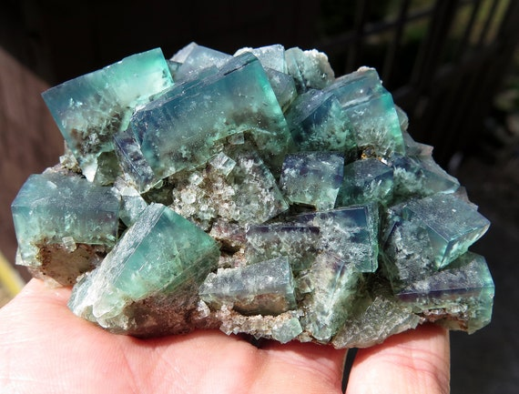 Top Fluorite Poison Ivy Pocket, Lady Annabella Mine Eastgate, Weardale County, Durham, England. 3 5/8 inch
