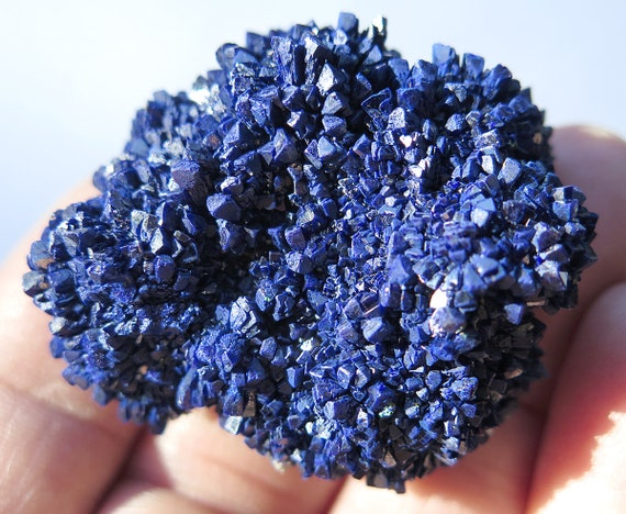 55.1 gram Azurite, Mined in La Sal, San Juan Co., Utah USA