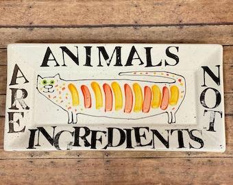 Cat Platter For Vegans