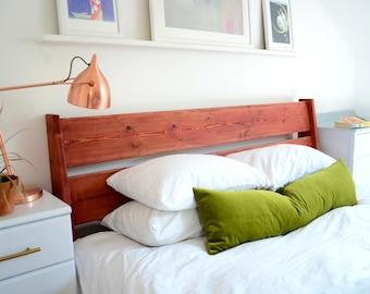 green long lumbar pillow // olive green velvet pillow // long lumbar cushion // olive green velvet cushion