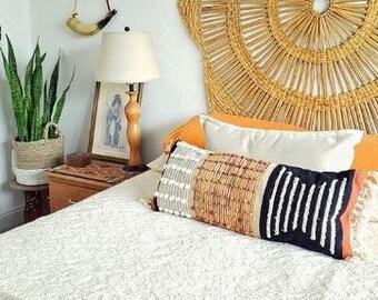Vintage Crochet PATTERN to make Mid Century Modern Pillows 50s Three Designs