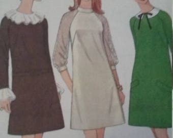 Vintage McCalls Sewing Pattern Size 12 Bust 34 2 in Four Versions