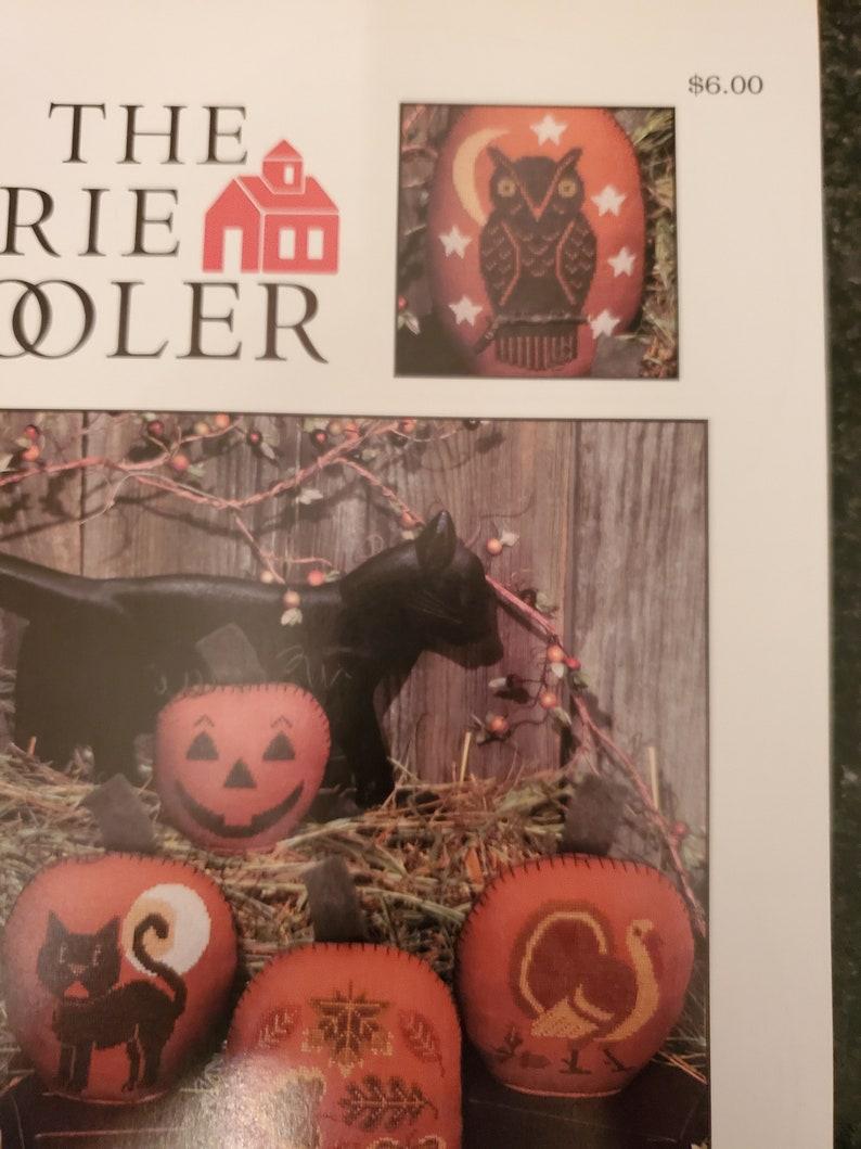 Fables /& Tales Nursery Prairie Schooler Cross Stitch Pattern Book 187