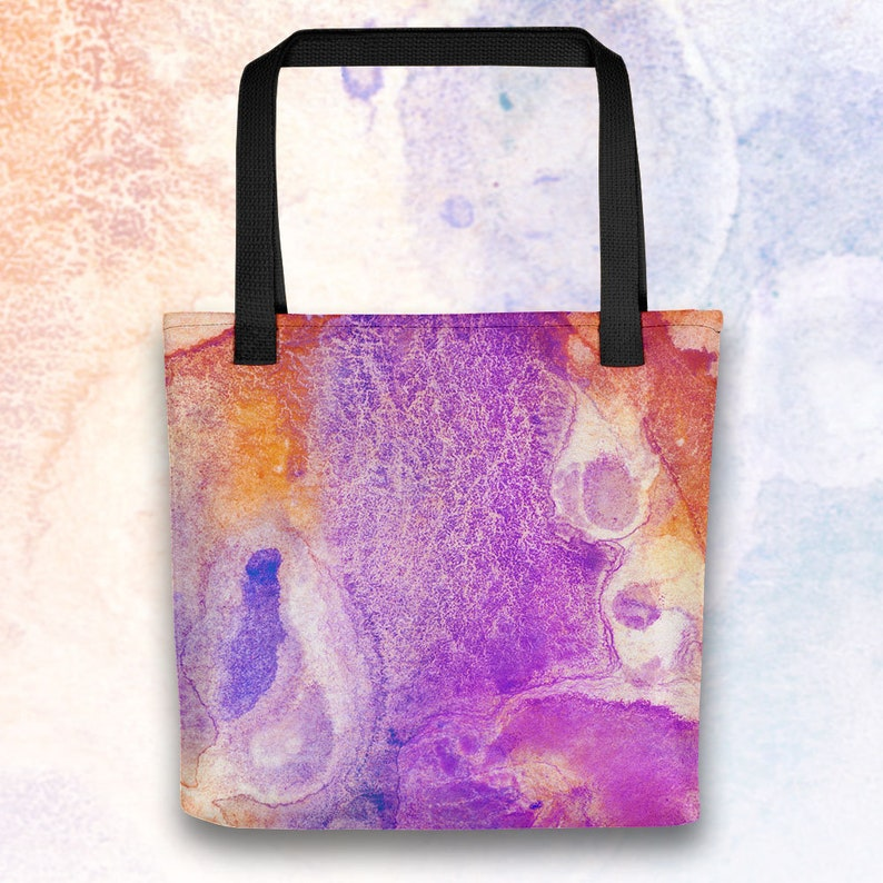 Beach Bag Fluid Art Bookbag Grocery Bag Witchy Prism Poison Tote Bag