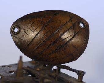 Leather eye patch,