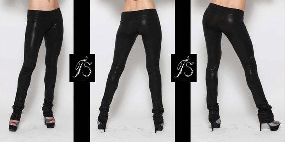 edb6ef8efe362 Liquid Leggings Faux Leather Leggings Womens Leggings Black | Etsy
