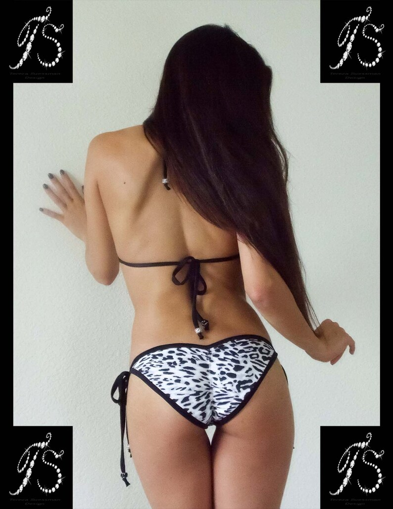 8a320475eb2 Bathing Suit Top White Swimsuit Competition Bikini Triangle   Etsy