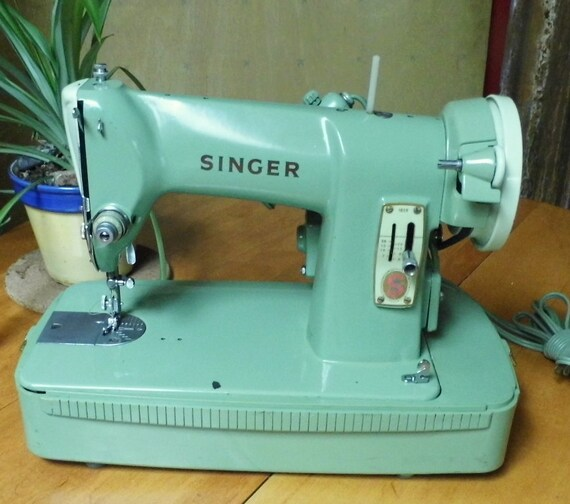 Restored Singer 40k Vintage Sewing Machine By Stagecoach Etsy Unique Singer Green Sewing Machine