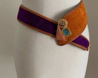shaped buckles Round shape dumbbell 10ea Leather Craft tools MLT-P0000BUR Button Studs for Belt ver.2 making belt
