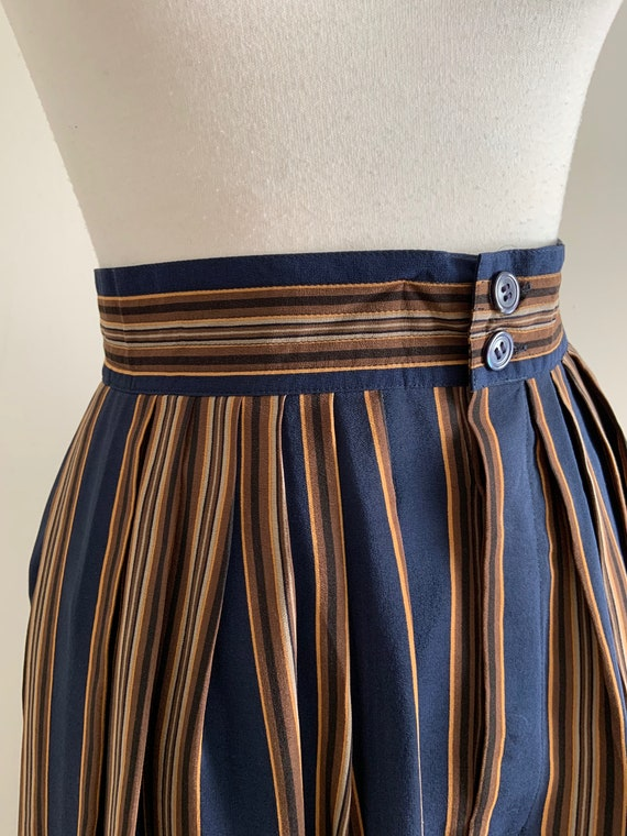 Vintage 1990s Silk Calvin Klein Skirt / Vintsge St