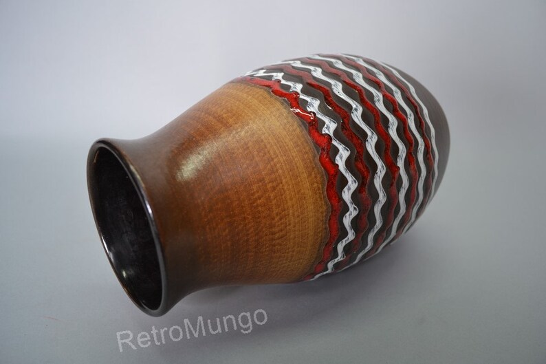 West German pottery vase by D\u00fcmler /& Breiden 113 25
