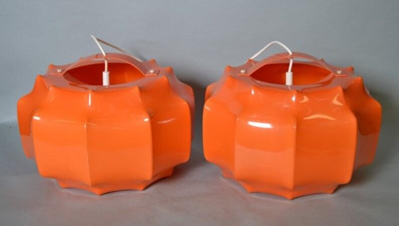 Set di due Ilka Plast degli anni ' 70 era spaziale bozzolo p7gFNQ0J