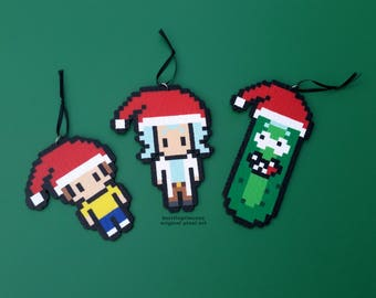 Rick and Morty Christmas Ornaments - Pickle Rick Christmas Ornament - Christmas Pickle