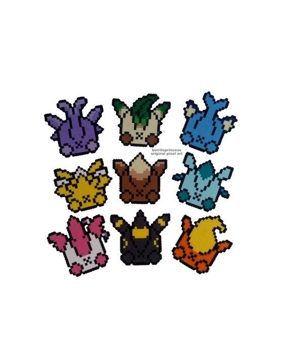 Pokemon Coasters Pokemon Butt Coasters Eevee Coaster | Etsy