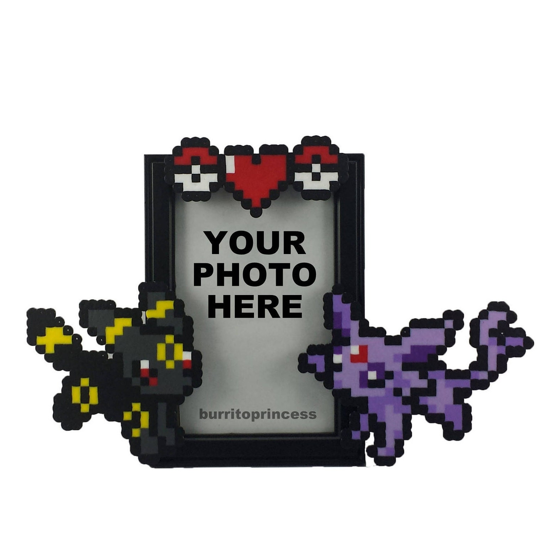 BENUTZERDEFINIERTE Pokemon Bilderrahmen Paare Bild Rahmen