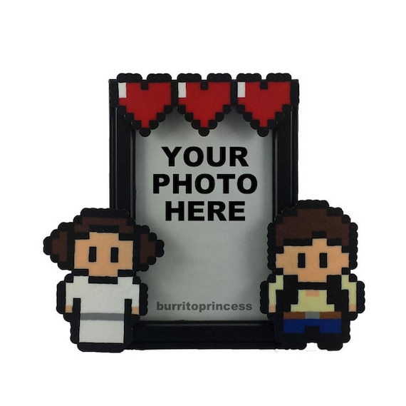 Star Wars Picture Frame - Couples Picture Frame - Couples Photo ...