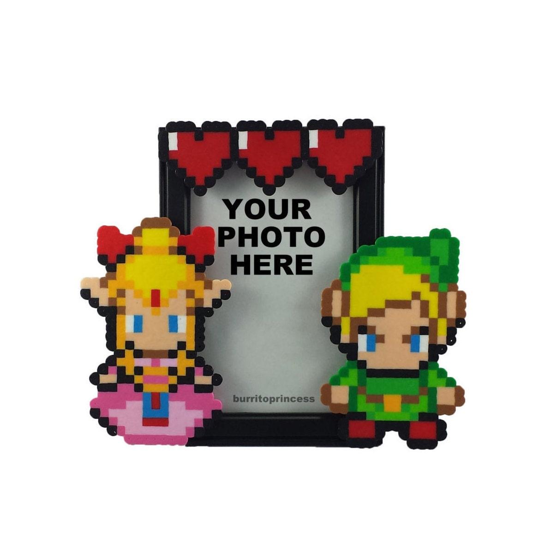 Legende von Zelda Bilderrahmen Paare Picture Frame Nerdy | Etsy