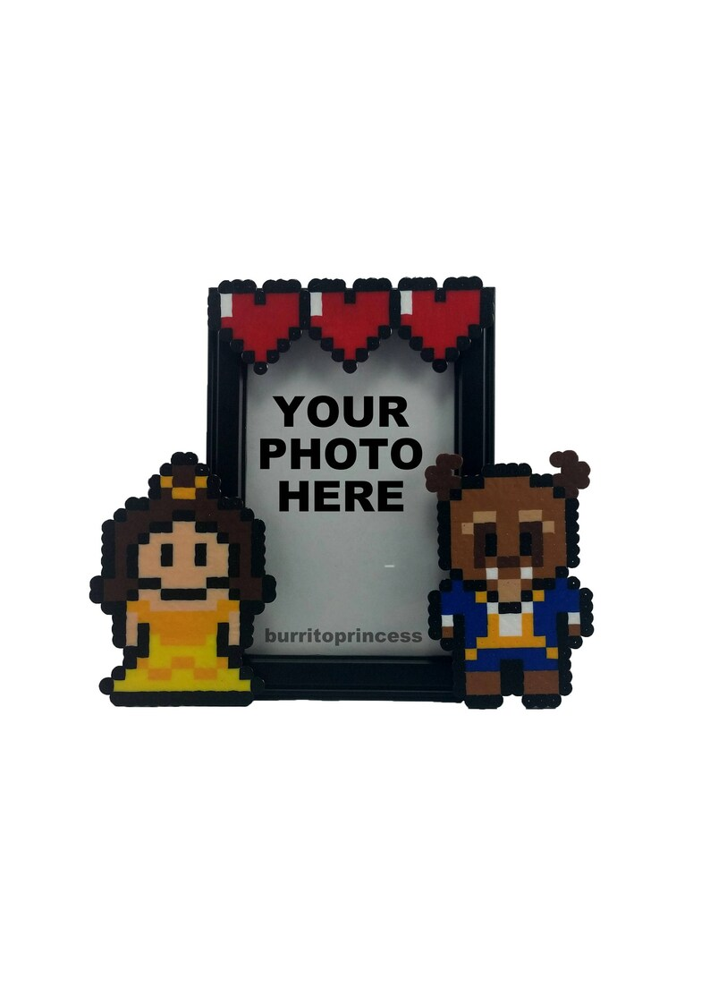 Birthday Beauty and the Beast Valentine/'s Day Gift Beauty and the Beast Wedding Gift Beauty and the Beast Picture Frame Anniversary