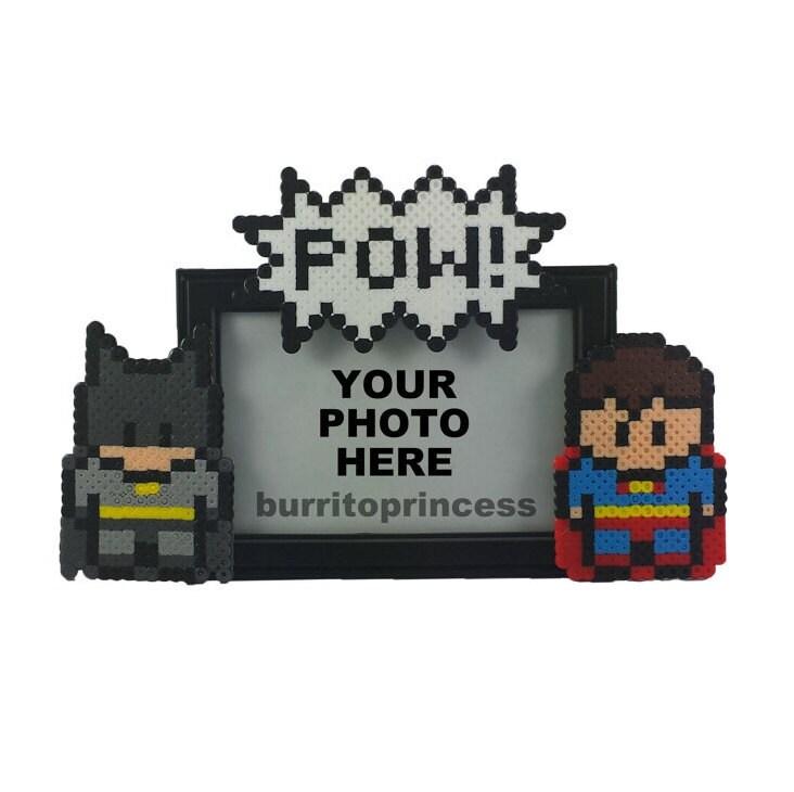 Beste Freunde-Bilderrahmen Frame Batman und Superman Bild | Etsy