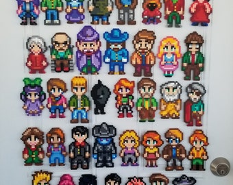 Stardew Valley Video Game Character Decorative Magnets
