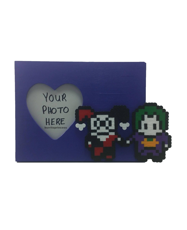 Harley und Joker Bild Rahmen Harley Quinn und Joker | Etsy