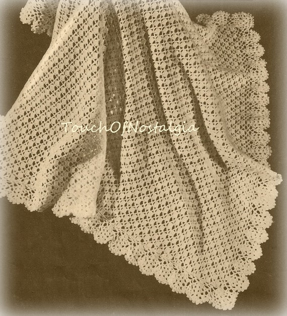 Crochet LACY Baby SHAWL Crochet Pattern Pretty LACE Baby Etsy Gorgeous Lacy Baby Blanket Crochet Pattern