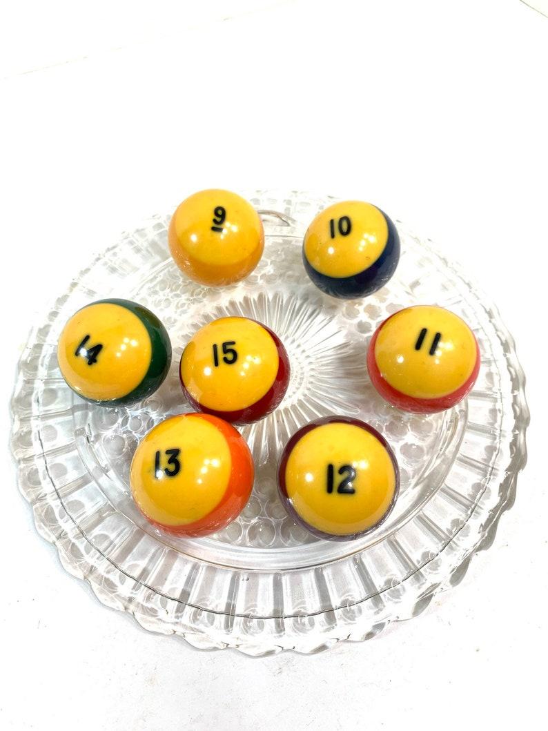 Vintage Billiard Balls Pool Balls Pick Your Number image 0