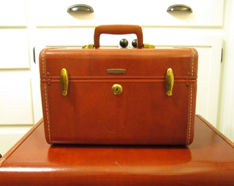 Train Case Samsonite Shwayder Bros. Vintage Suitcase