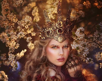 Golden Halo headdress