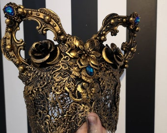 Cathedral Kitten Blind Mask