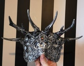 Small Gem Horned Crown Mask