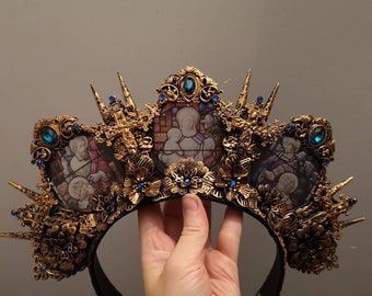 Ready Made Cathedral Stained Glass Headdress