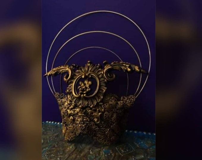 Winged Deity Mask - Made To Order