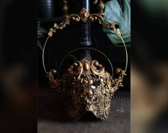 Crystal Deity Mask - Made To Order