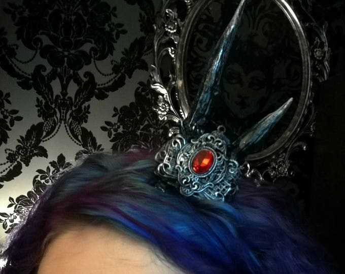 Mini Jewelled Antler Crown - READY MADE