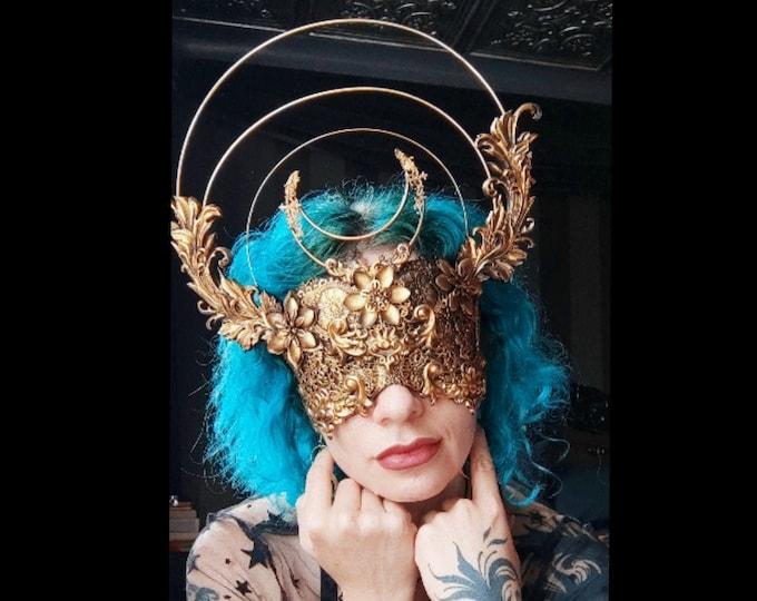 Emperor Moth Blind Mask - Made To Order
