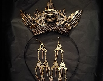 Crypt Gift Set - Halo & Earrings