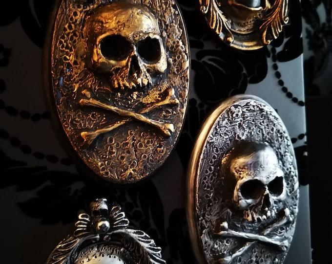 Skull and Cross Bones Wall Art