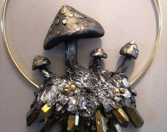 Mushroom Ring Large