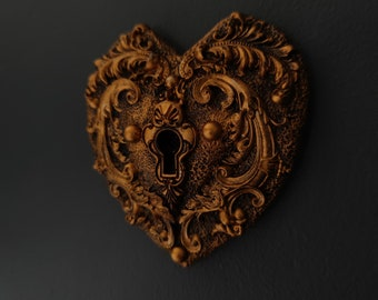 Ancient Chambers - Large Heart Lock