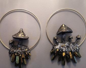 Mushroom Ring Large SET