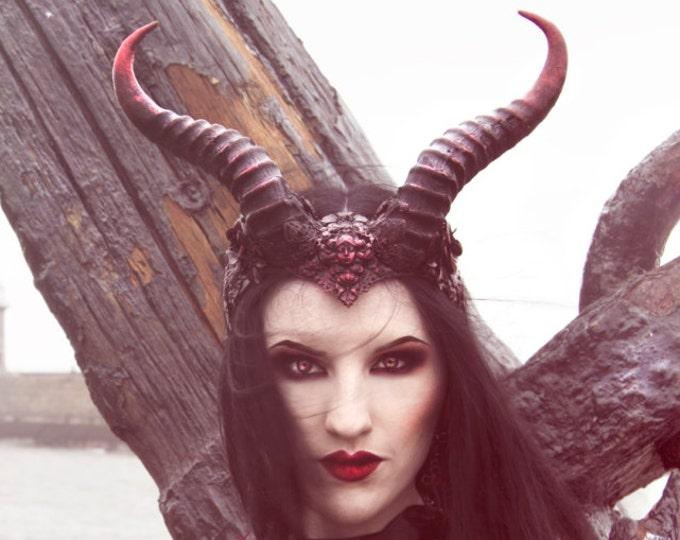 COLOUR OPTIONS Succubus Horn Headdress