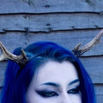 Medium Deer Antlers Headband